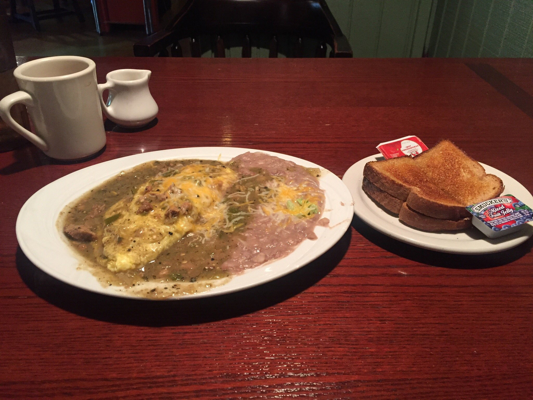 green chile omelette colorado springs