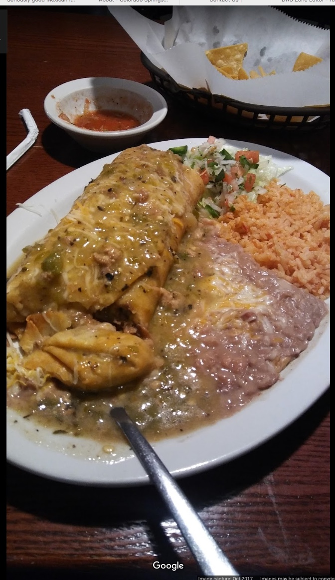 green chile burrito colorado springs