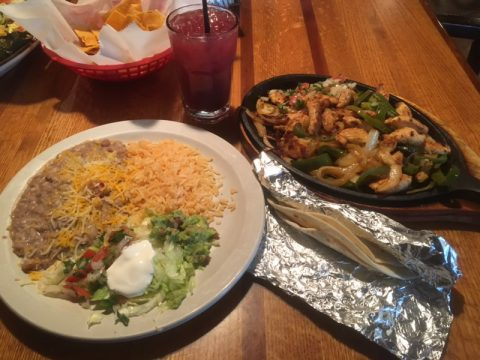 chicken fajitas colorado springs