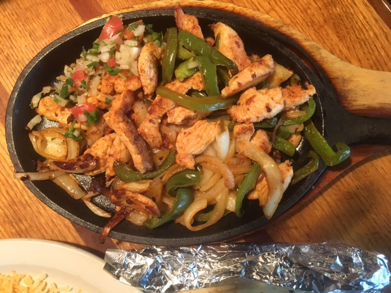 colorado springs chicken fajitas